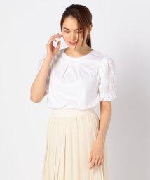 NARA CAMICIE/袖デザイン半袖カットソー/503337028