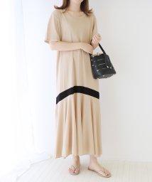 BLUEEAST/裾ラインロング丈カットソーワンピース/503337079