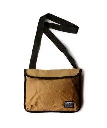 exrevo/サコッシュ ショルダーバッグ レディース メンズ 斜め掛け「紙袋風 サコッシュバッグ」ipad ペットボトル/503337542
