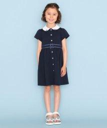 KUMIKYOKU KIDS/【150-170cm】プレミアムピケワンピース/503338799