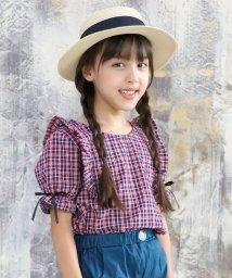 子供服Bee/ギンガムチェック柄 半袖ブラウス/503124785