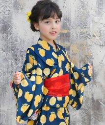 子供服Bee/選べる3柄 ドレスタイプ浴衣 3点セット/503155045