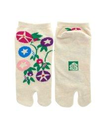 KAYA/【カヤ】朝顔足袋型靴下23~25cm グレー/503335562