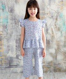 子供服Bee/セットアップ(ノースリーブトップス&花柄パンツ)/503337513