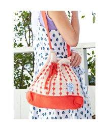 CAYHANE/【欧州航路】マリーニット巾着バッグ レッド/503338064