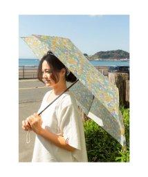 CAYHANE/【欧州航路】ヨーロッパプリント折りたたみ傘 イエロー×グリーン/503338368