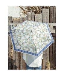 CAYHANE/【欧州航路】ヨーロッパプリント折りたたみ傘 ホワイト×ブルー/503338372