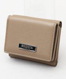 REGiSTA/【REGiSTA/レジスタ】 牛床革/スプリットレザーコンパクトウォレット/三つ折り財布/503339351