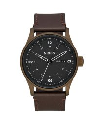 NIXON/ニクソン NIXON Sentry Leather (Bronze Cerakote / Brown)/503340530