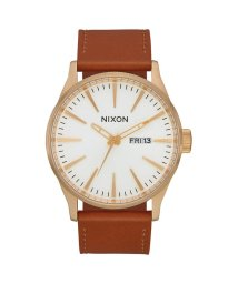 NIXON/ニクソン NIXON Sentry Leather (Gold / White / Saddle)/503340531