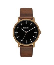 NIXON/ニクソン NIXON Porter Leather (Brass / Black / Brown)/503340578