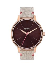 NIXON/ニクソン NIXON Kensington Leather (Rose Gold / Brown)/503340637