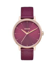 NIXON/ニクソン NIXON Kensington Leather (Rose Gold / Bordeaux)/503340650