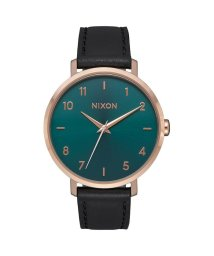 NIXON/ニクソン NIXON Arrow Leather (Rose Gold / Emerald)/503340655
