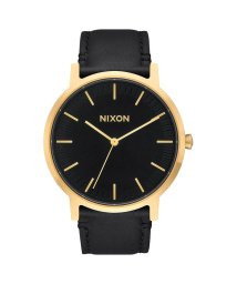 NIXON/ニクソン NIXON Porter Leather (Gold / Black)/503340660