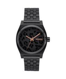 NIXON/ニクソン NIXON Time Teller (All Black / Cheetah)/503340662