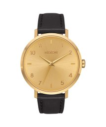 NIXON/ニクソン NIXON Arrow Leather (All Gold / Black)/503340675