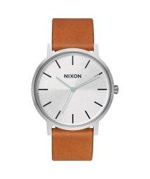 NIXON/ニクソン NIXON Porter Leather (Silver / Tan)/503340679