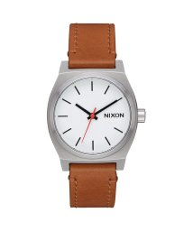 NIXON/ニクソン NIXON Medium Time Teller Leather (White / Saddle)/503340702