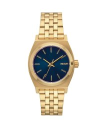 NIXON/ニクソン NIXON Medium Time Teller (All Light Gold / Cobalt)/503340703