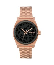 NIXON/ニクソン NIXON Medium Time Teller (All Rose Gold/Black/Cheetah)/503340715