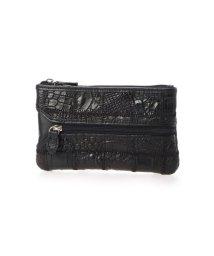 RIAMASA/リアマッサ RIAMASA クロコダイル本革ミニ財布 (ブラック)/503341170