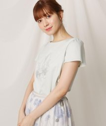 Couture Brooch/【洗える】バレエシューズ&リリープリントTシャツ/503341383