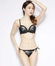 nico/フラワー刺繍ブラジャー&ショーツセット(A~F)/503302639
