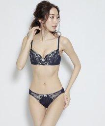 nico/小花刺繍ブラジャー&ショーツセット(B~F)/503302645