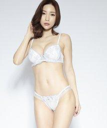 nico/グラデーションエンブ刺繍ブラジャー&ショーツセット(B~F)/503302648