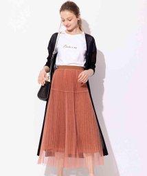 And Couture/チュールプリーツレーススカート/503314252