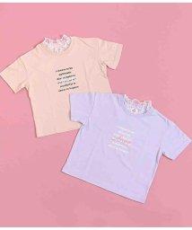 ANAP KIDS/フリルネックTシャツ/503344575
