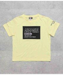ANAP GiRL/袖アキボックスロゴトップス/503344592