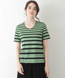 CHRISTIAN AUJARD/【洗える】グラデーションボーダーTシャツ/503344644