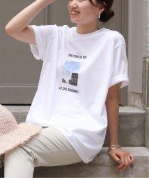 IENA/《追加予約》Bonne Vie フォト Tシャツ◆/503345172