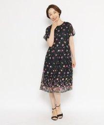 ORCHIDEA/刺しゅうチュールワンピース/503345257