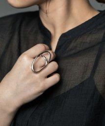 URBAN RESEARCH/decor(silver) Big Hoop Ring/503346259
