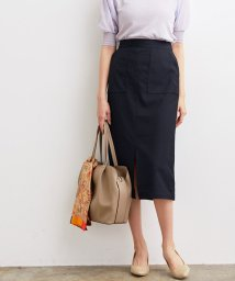 ViS/【WEB限定SS,LLサイズ】Lポケットタイトスカート/503346361