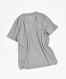 nano・universe/AntiSoaked VネックTシャツ/503104927