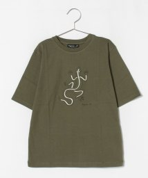agnes b. ENFANT/SCQ4 E TS キッズ レザールTシャツ/503336981