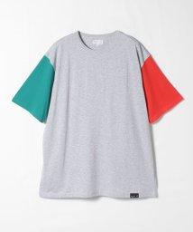 agnes b. HOMME/JF59 TS トリコロールカラー Tシャツ/503337006