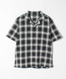 agnes b. HOMME/RIZ6 CHEMISE チェックオープンカラーシャツ/503337062