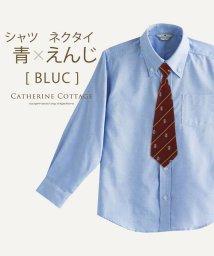 Catherine Cottage/ネクタイ付き男女兼用シャツ/503345955