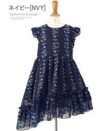 Catherine Cottage/ひまわりシフォンフリルワンピース/503345985