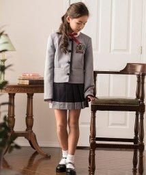 Catherine Cottage/ノーカラージャケット 配色プリーツ スカートスーツ/503346014