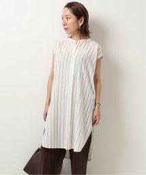 Spick & Span/≪予約≫ストライプバックオープンノースリーブシャツ◆/503347362