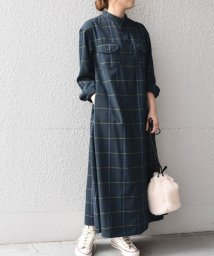 SHIPS any WOMENS/《追加予約》【SHIPS any別注】Lee: チェックワンピース/503347946