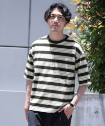 URBAN RESEARCH ROSSO/リラックスボーダーTシャツ/503348510
