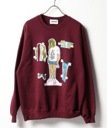 JOINT WORKS/【BOWWOW / バウワウ】NEVER MIND DREES UP CREW SWEAT/503349434