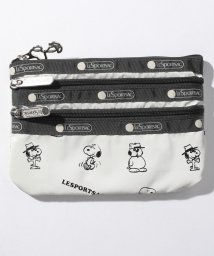 LeSportsac/SPECIAL 3 ZIP COSMETIC スヌーピーアンドシブリングスパターン/LS0024133